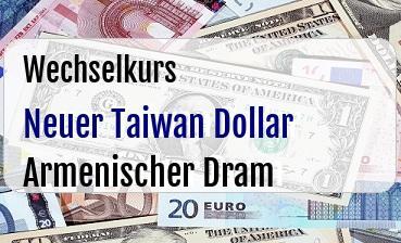 Neuer Taiwan Dollar in Armenischer Dram