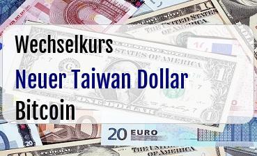 Neuer Taiwan Dollar in Bitcoin