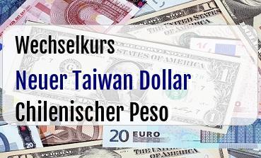 Neuer Taiwan Dollar in Chilenischer Peso