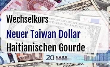 Neuer Taiwan Dollar in Haitianischen Gourde