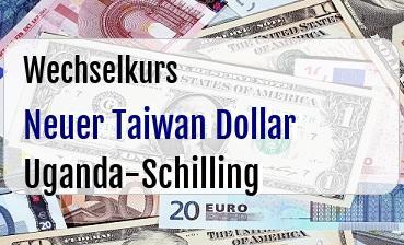 Neuer Taiwan Dollar in Uganda-Schilling