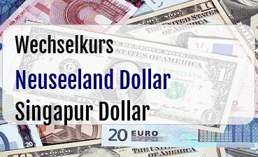 Neuseeland Dollar in Singapur Dollar