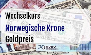 Norwegische Krone in Goldpreis