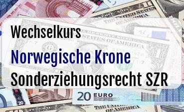 Norwegische Krone in Sonderziehungsrecht SZR
