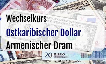 Ostkaribischer Dollar in Armenischer Dram