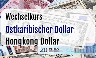 Ostkaribischer Dollar in Hongkong Dollar