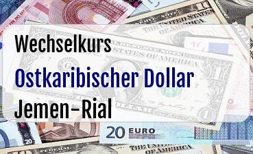 Ostkaribischer Dollar in Jemen-Rial