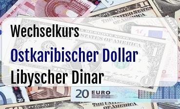 Ostkaribischer Dollar in Libyscher Dinar