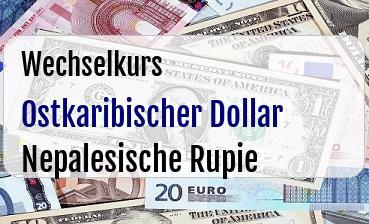 Ostkaribischer Dollar in Nepalesische Rupie