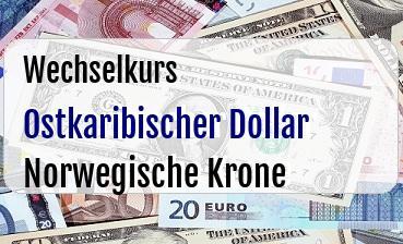 Ostkaribischer Dollar in Norwegische Krone