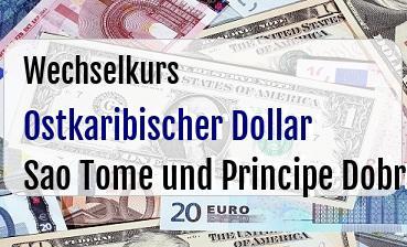 Ostkaribischer Dollar in Sao Tome und Principe Dobra