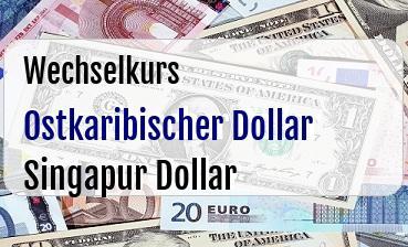 Ostkaribischer Dollar in Singapur Dollar