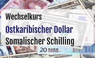 Ostkaribischer Dollar in Somalischer Schilling