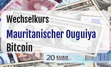 Mauritanischer Ouguiya in Bitcoin
