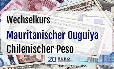 Mauritanischer Ouguiya in Chilenischer Peso