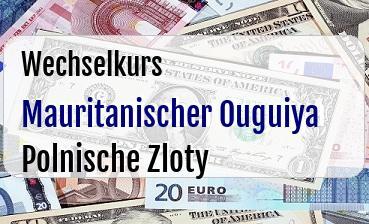Mauritanischer Ouguiya in Polnische Zloty