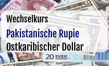Pakistanische Rupie in Ostkaribischer Dollar