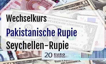 Pakistanische Rupie in Seychellen-Rupie