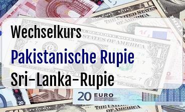Pakistanische Rupie in Sri-Lanka-Rupie