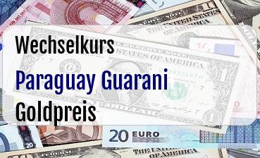 Paraguay Guarani in Goldpreis