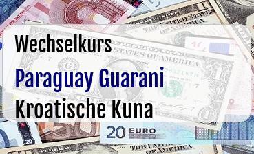 Paraguay Guarani in Kroatische Kuna