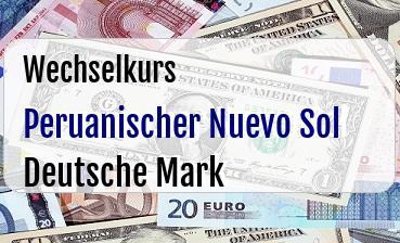 Peruanischer Nuevo Sol in Deutsche Mark