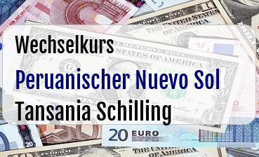 Peruanischer Nuevo Sol in Tansania Schilling