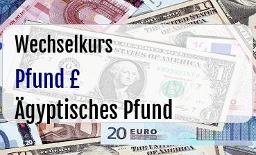 Britische Pfund in Ägyptisches Pfund