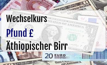 Britische Pfund in Äthiopischer Birr