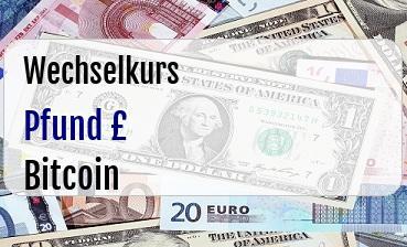 Britische Pfund in Bitcoin