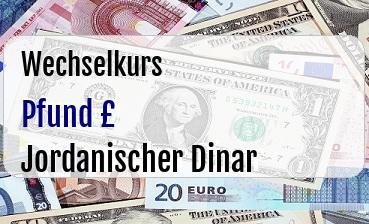 Britische Pfund in Jordanischer Dinar
