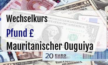 Britische Pfund in Mauritanischer Ouguiya
