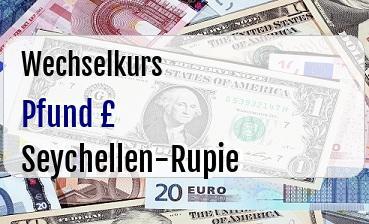 Britische Pfund in Seychellen-Rupie