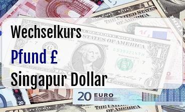 Britische Pfund in Singapur Dollar