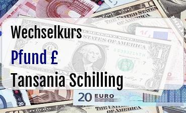 Britische Pfund in Tansania Schilling