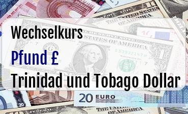 Britische Pfund in Trinidad und Tobago Dollar