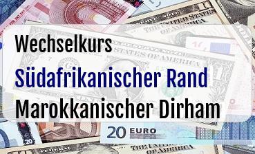 Südafrikanischer Rand in Marokkanischer Dirham