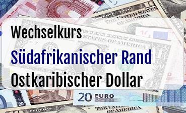 Südafrikanischer Rand in Ostkaribischer Dollar