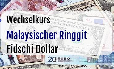 Malaysischer Ringgit in Fidschi Dollar
