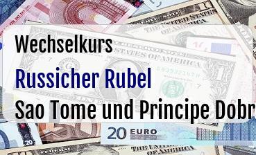 Russicher Rubel in Sao Tome und Principe Dobra
