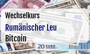 Rumänischer Leu in Bitcoin