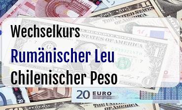 Rumänischer Leu in Chilenischer Peso