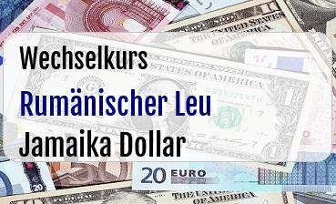 Rumänischer Leu in Jamaika Dollar