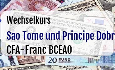 Sao Tome und Principe Dobra in CFA-Franc BCEAO