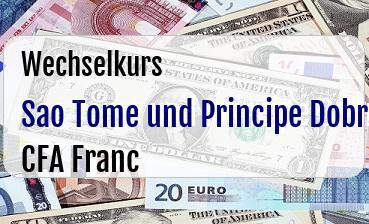 Sao Tome und Principe Dobra in CFA Franc
