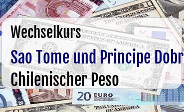 Sao Tome und Principe Dobra in Chilenischer Peso