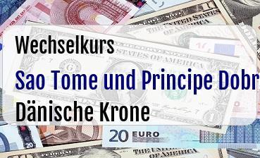 Sao Tome und Principe Dobra in Dänische Krone