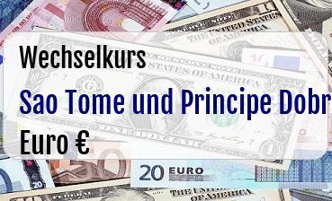 Sao Tome und Principe Dobra in Euro