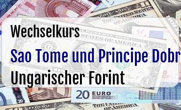 Sao Tome und Principe Dobra in Ungarischer Forint