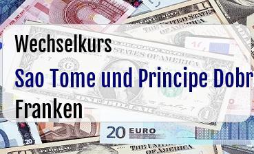 Sao Tome und Principe Dobra in Schweizer Franken